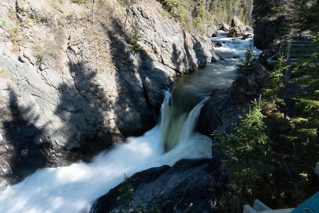 Haines Highway, Million Dollar Falls, Yukon