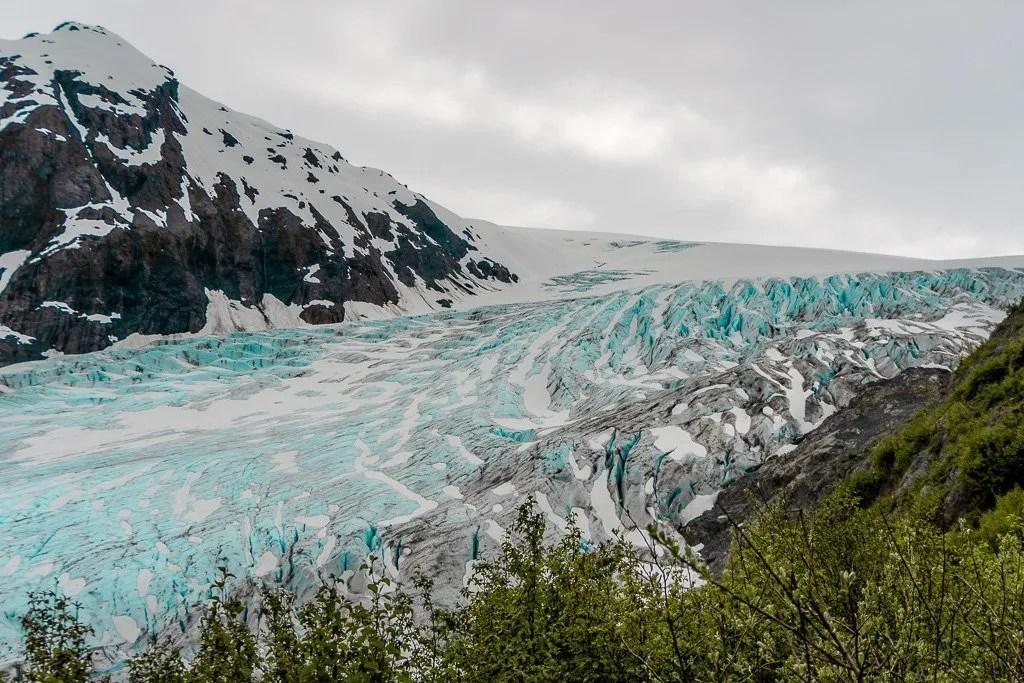 Exit Glacier, Kenai Fjords National Park, Alaska, Kenai Peninsula