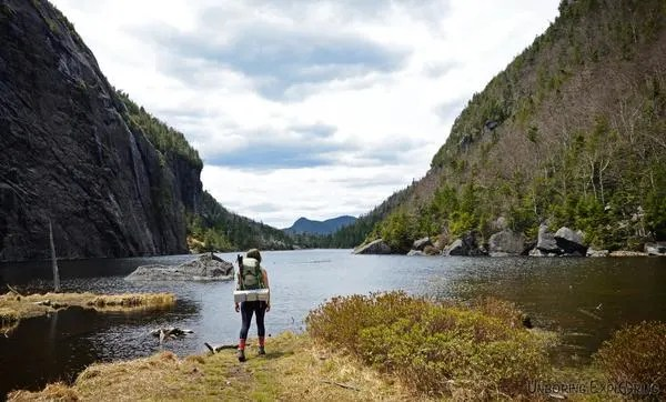 Avalanche Lake in Adirondacks New York, Hikes on the East Coasat