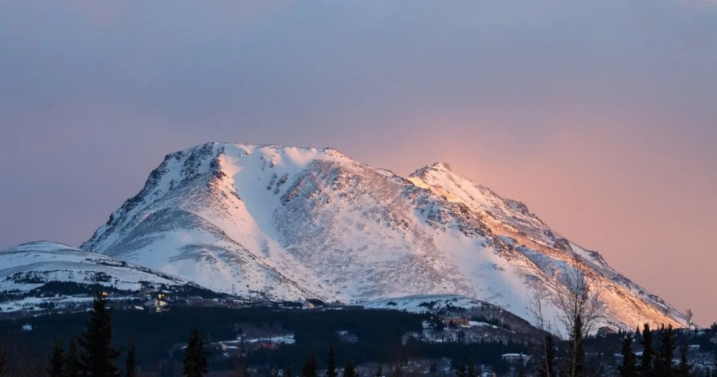Flattop Mountain Anchorage