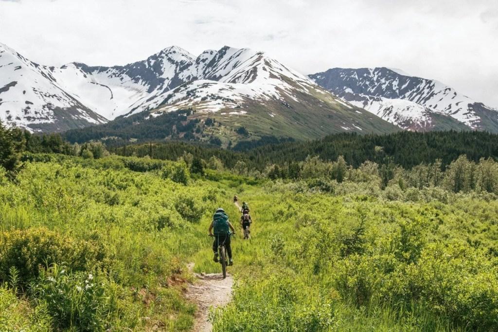 Johnson Pass trail, Alaska, Kenai Peninsula