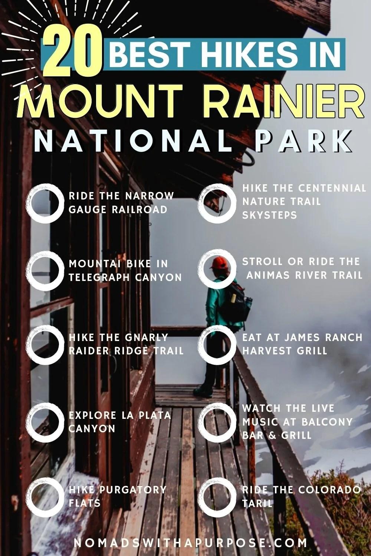 Best Hikes in Mount Rainier