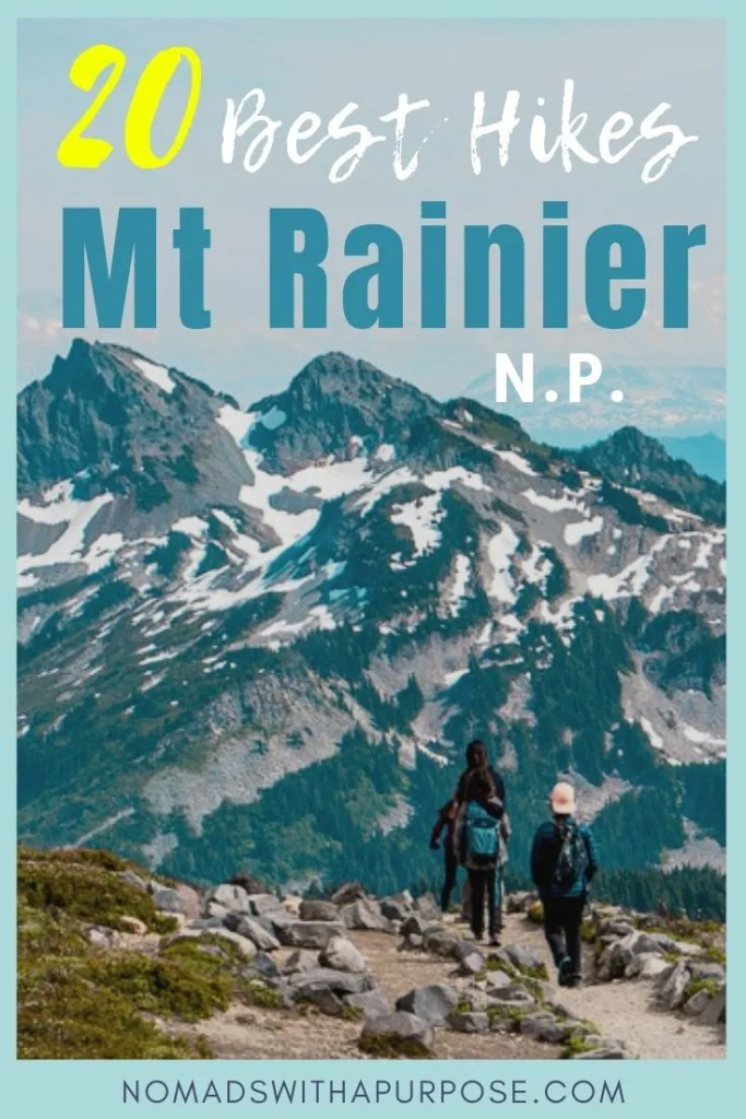 Best hikes Mount rainier