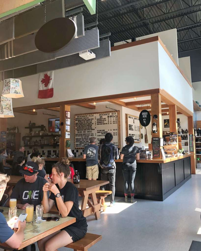 where to eat Squamish, Backcountry Brewing
