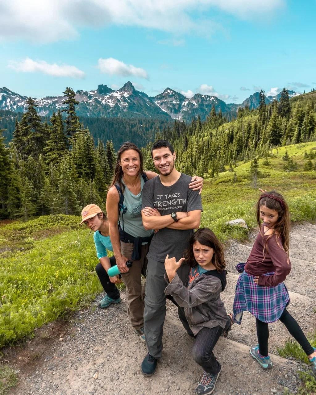 Hiking Paradise Mount Rainier NP, Things to do Rainier