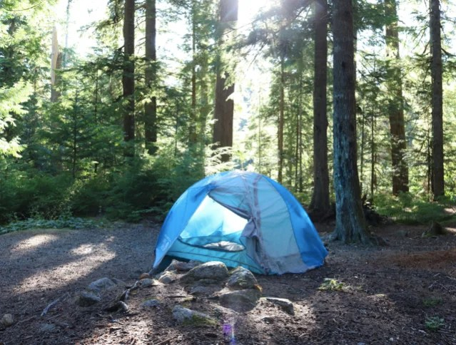 Cal Chek Camping near Whistler