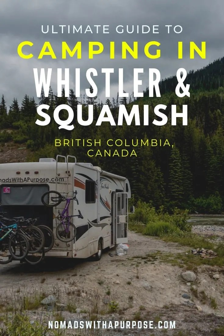Camping in Squamish + Whistler: Sea to Sky Camping Guide