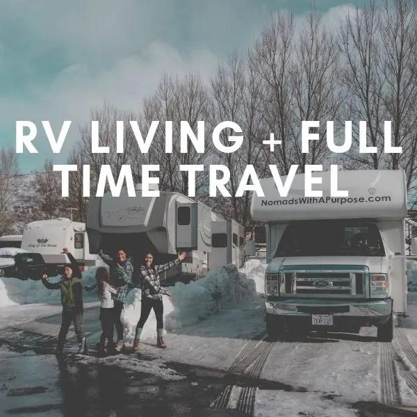 rv living + full time travel