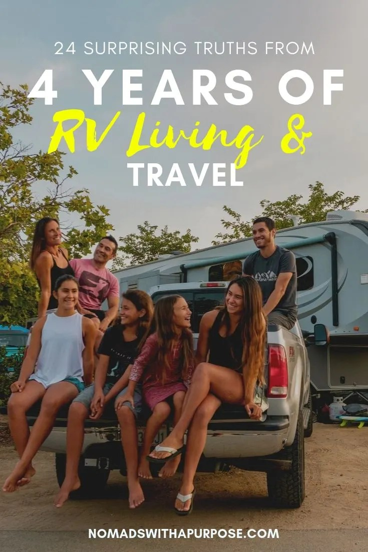 Lessons Learned from 4 Years of RV Living & Travel