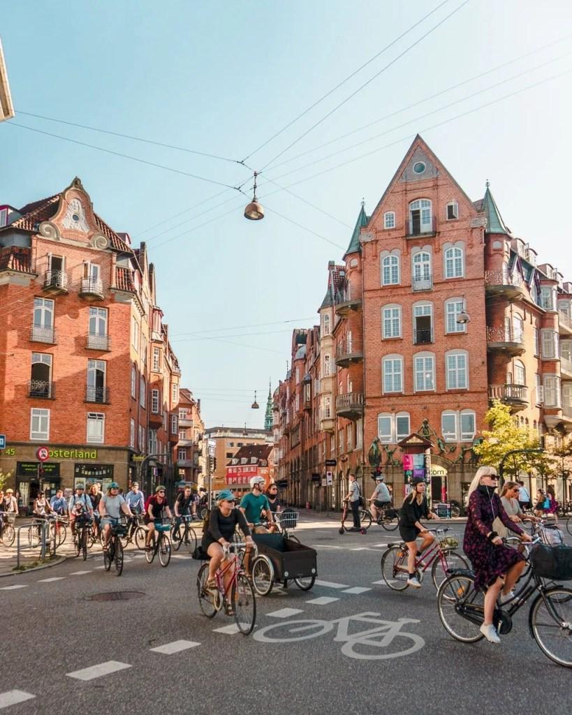Biking, Copenhagen 1 day Itinerary