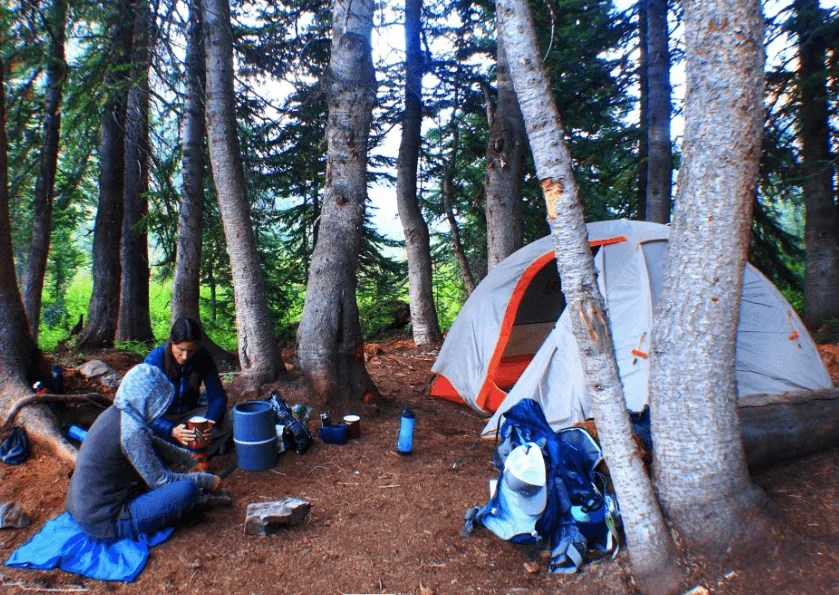 Backpacking with HydroBlu Water Filter