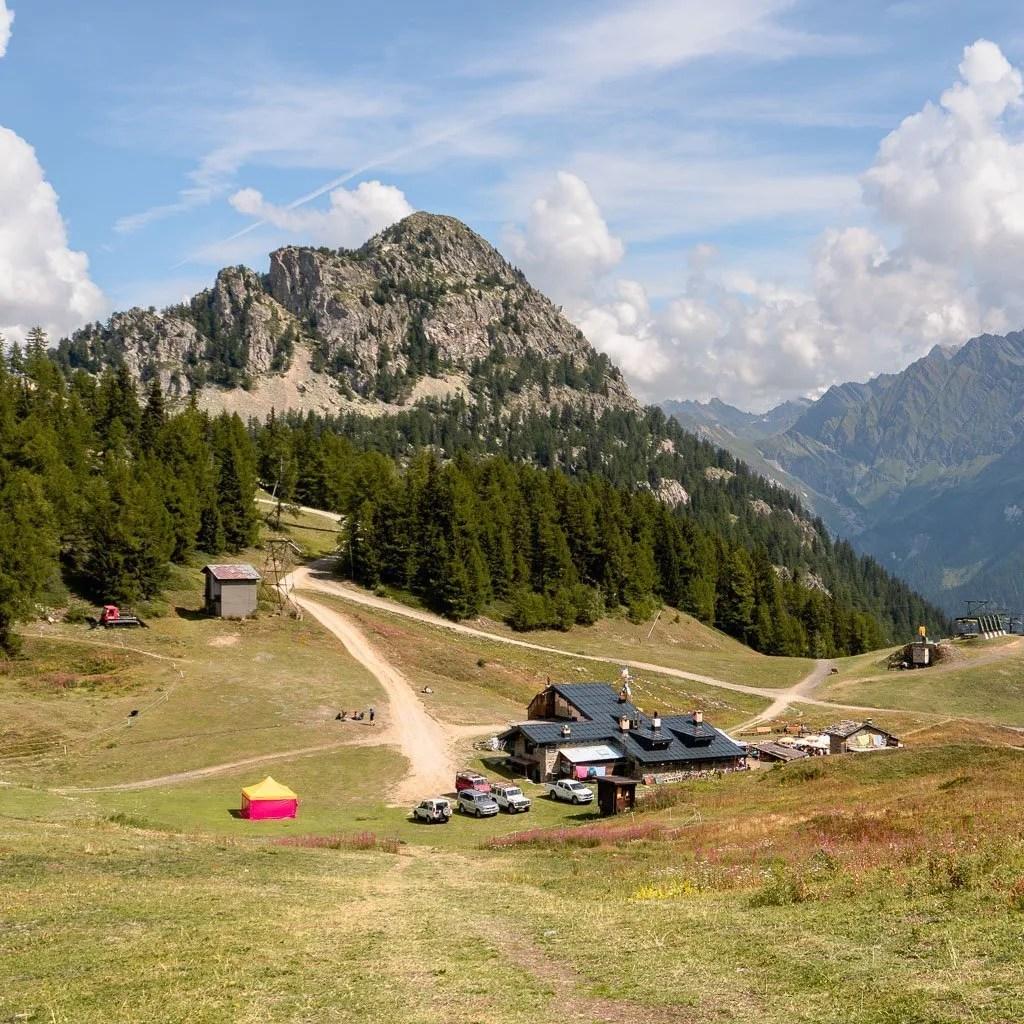 Col Chécrouit, Stage 4, Tour du Mont Blanc