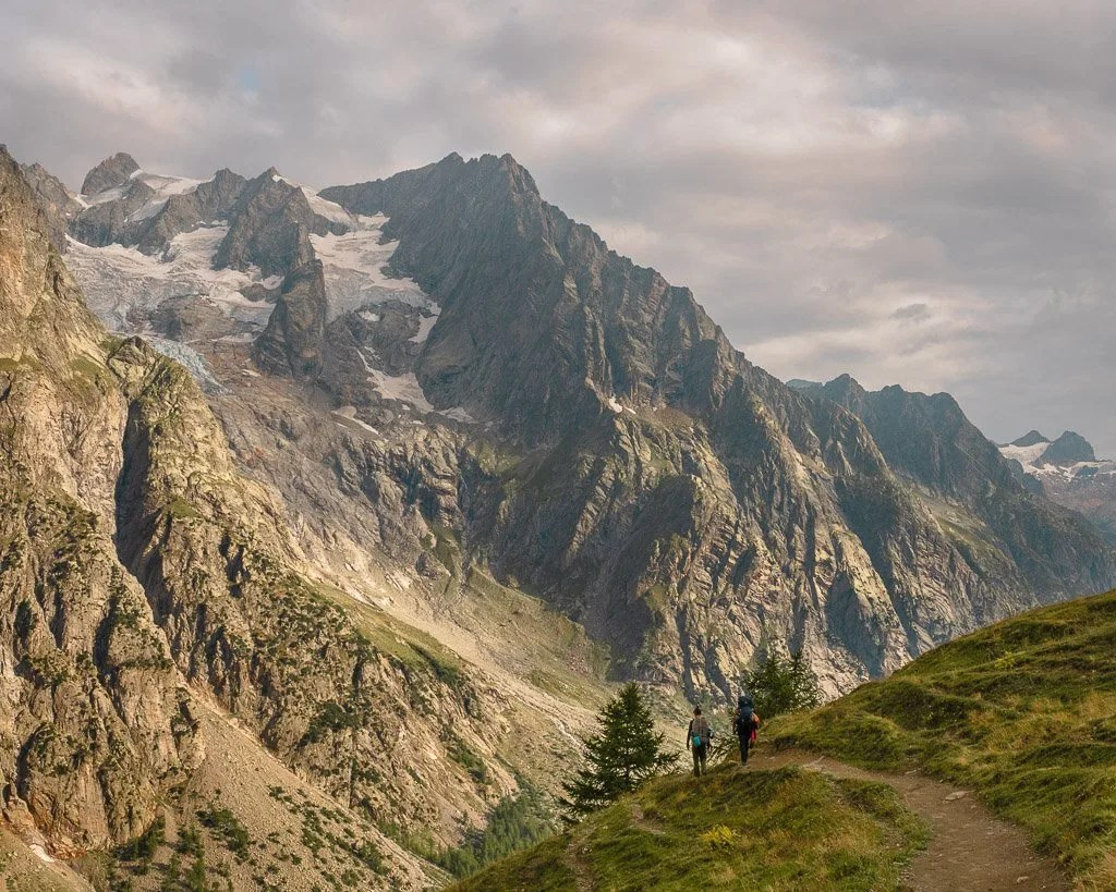 Alt Stage 5 of Tour du Mont Blanc, Italy side