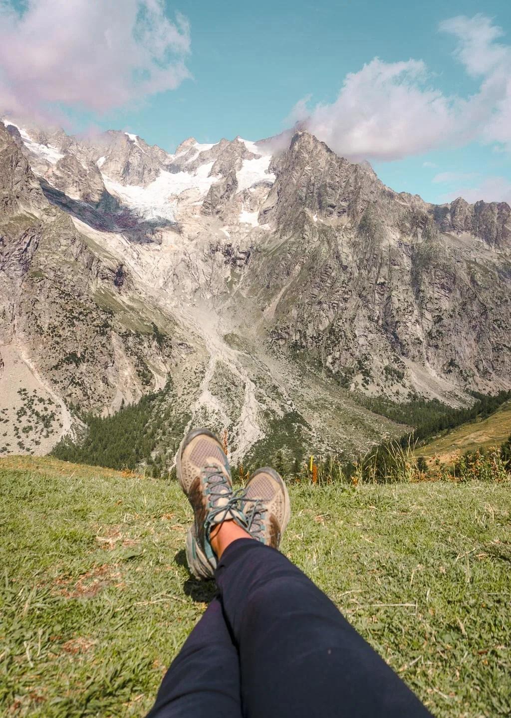 Rifugio Bonatti on Tour du Mont Blanc, Italy