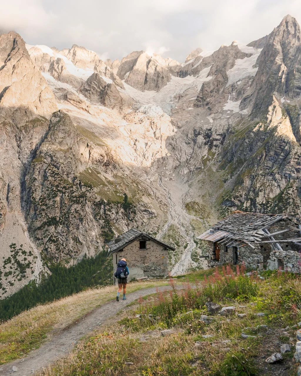 stage 6 of Tour du Mont Blanc, Italy