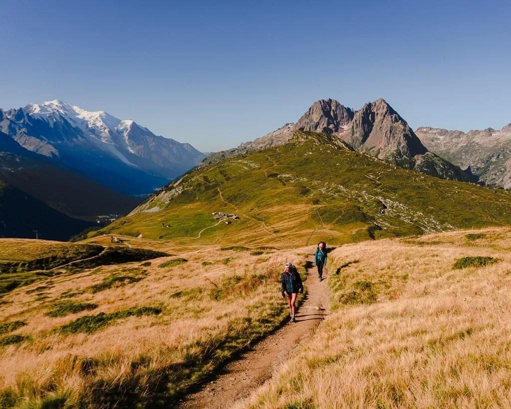 Col de Posettes, Tour du mont blanc stage 10, French alps