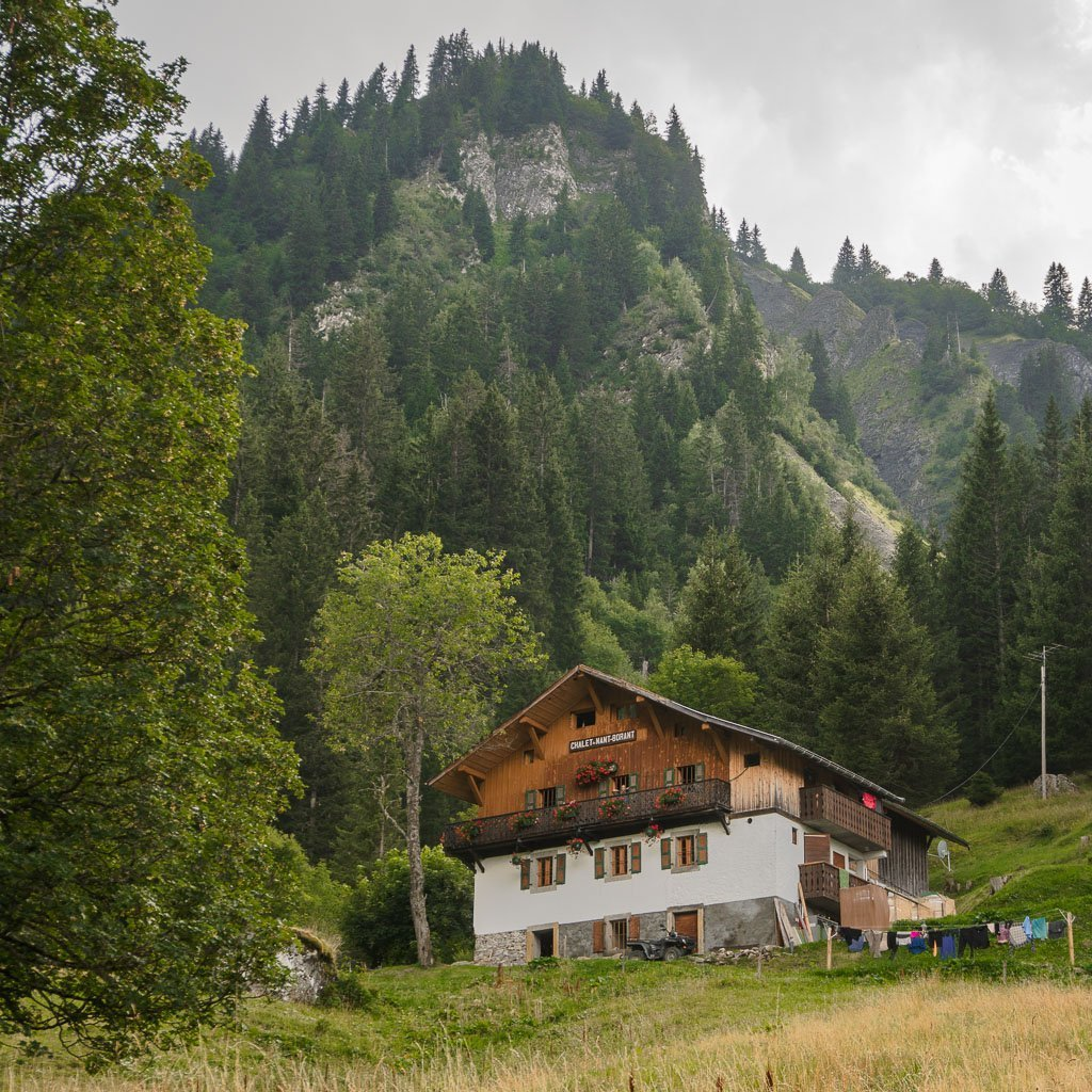 Refuge Nant Borrant on the Tour du Mont Blanc stage 2