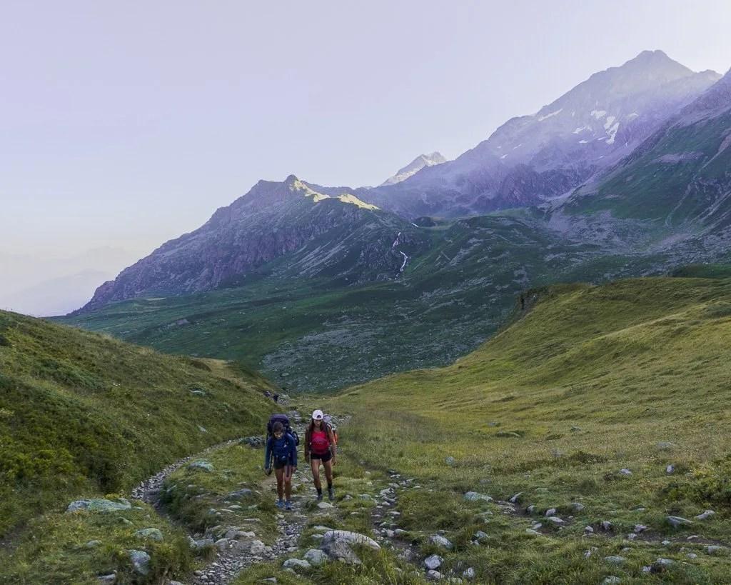 Stage 2 on Tour du Mont Blanc