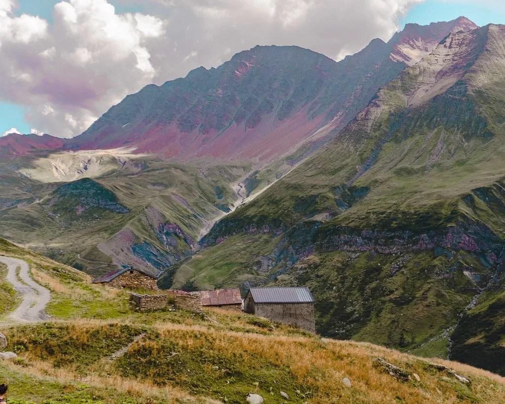 Stage 2 variant on Tour du Mont Blanc