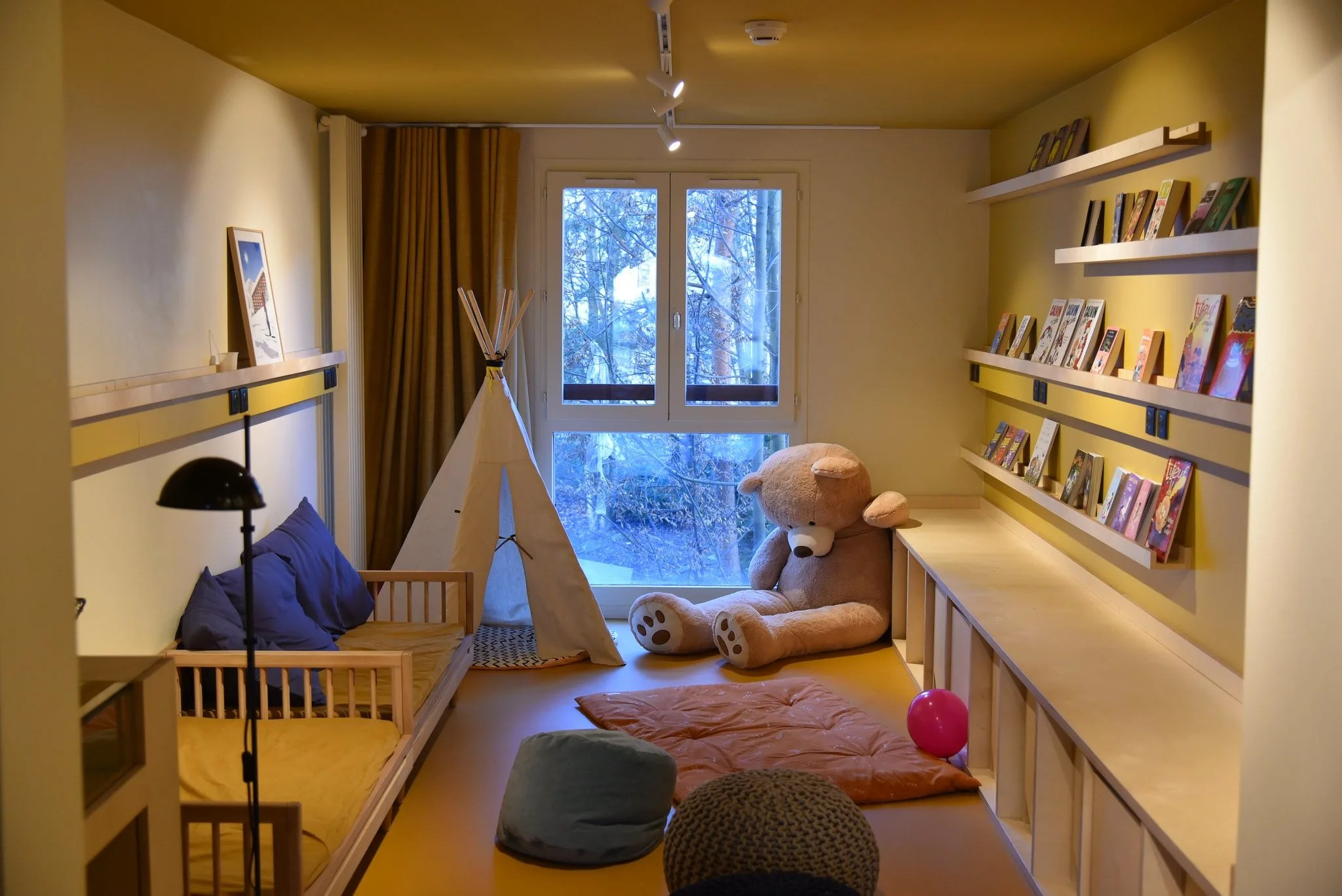 Kids Program at La Folie Douce hotel, Where to Stay in Chamonix, France