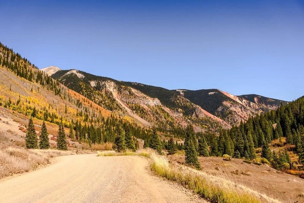 South Mineral Road, Million dollar Highway Colorado