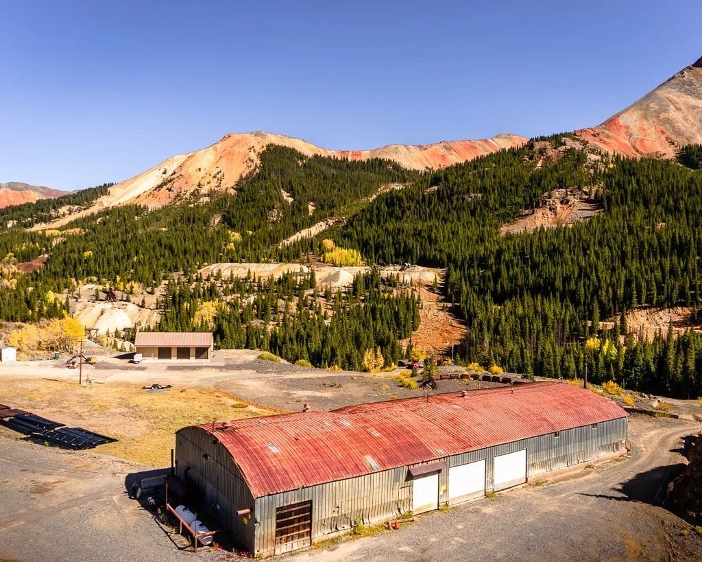 Red Mountain Pass, Million Dollar Highway scenic drive Colorado