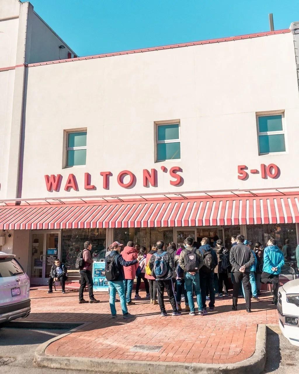 Walmart Museum in Bentonville, Arkansas