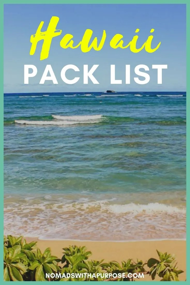 Hawaii pack list: Minimalist packing guide for adventurers