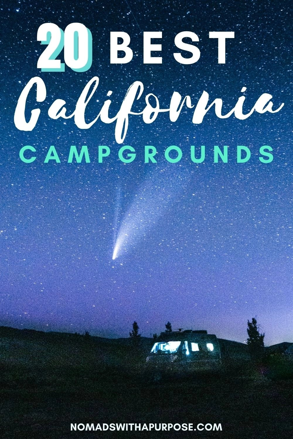 20 Best California Campgrounds
