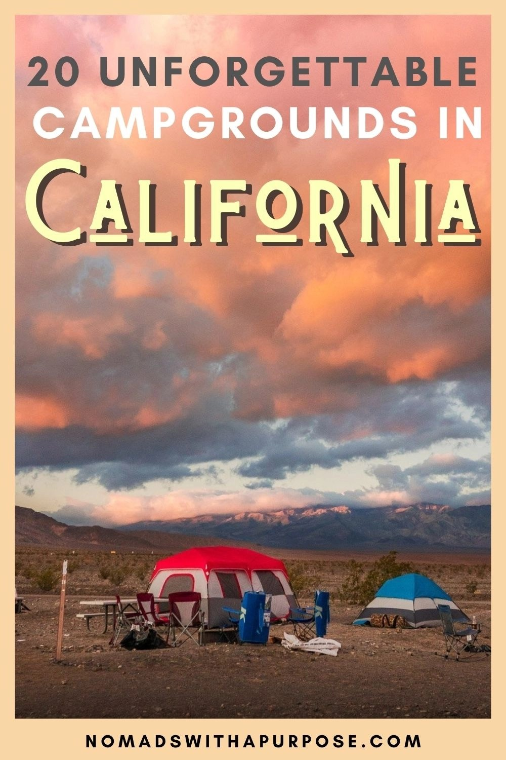 20 Unforgettable Campgrounds In California