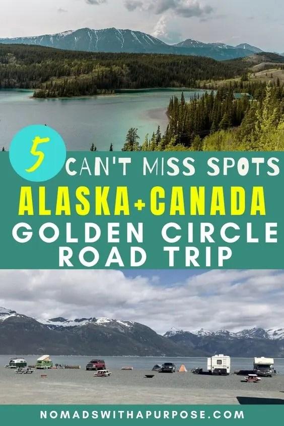 Alaska + Canada Golden Circle pin