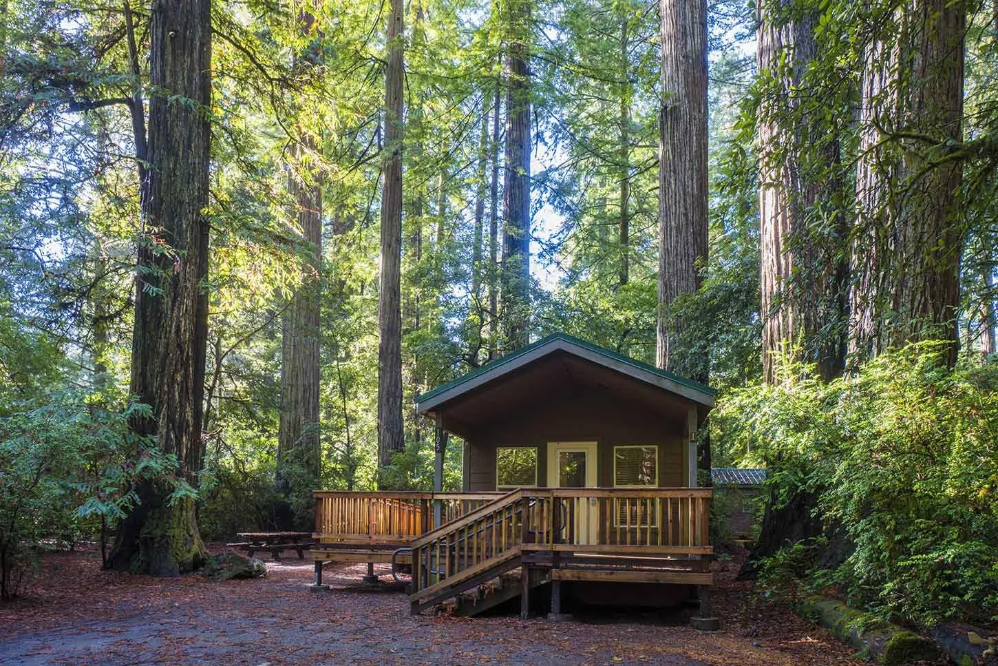 Jedediah Smith redwoods, best campgrounds california