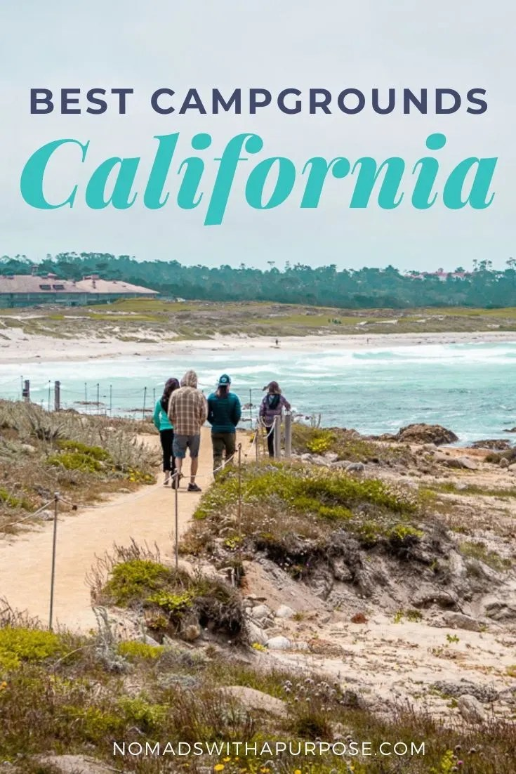 best campgrounds California