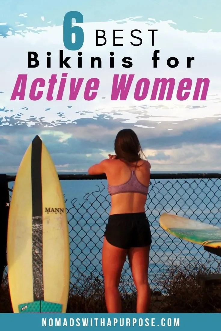 6 best bikinis for active women