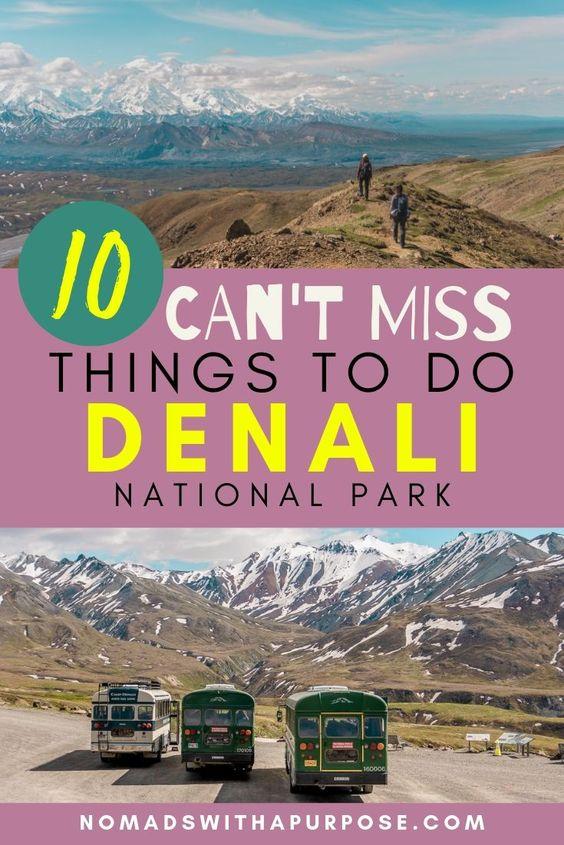 Can't miss Denali pin