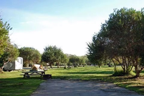 San Simeon campground, california best campgrounds