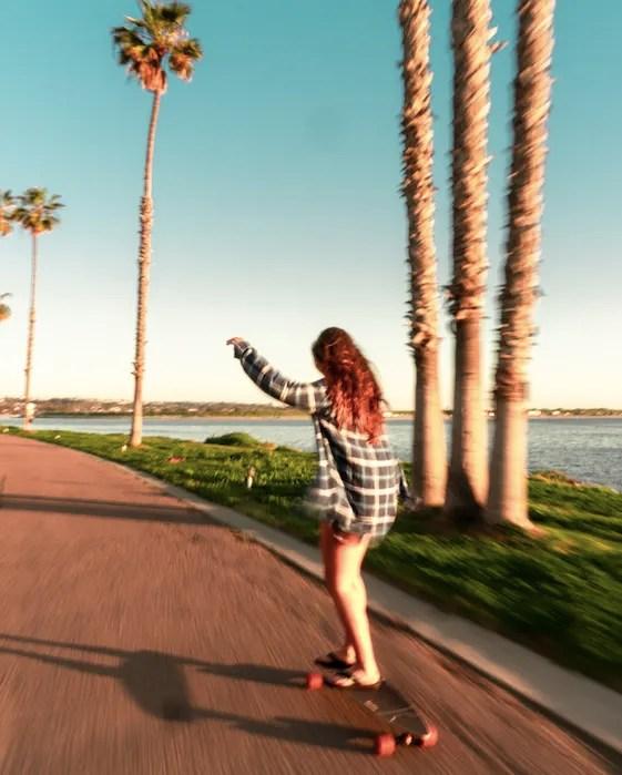 Skating, Mission Bay, San Diego