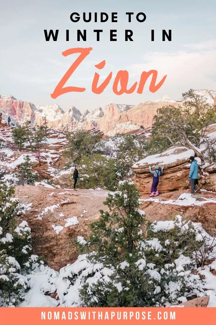 Guide to Zion in Winter