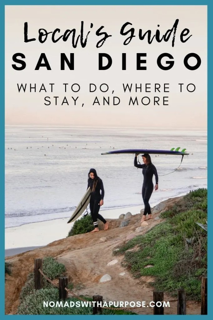 san Diego locals travel guide