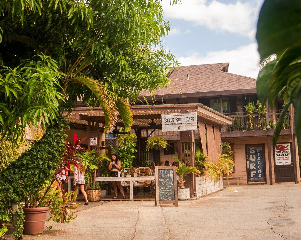 Lahaina, Belle Surf Cafe, Maui
