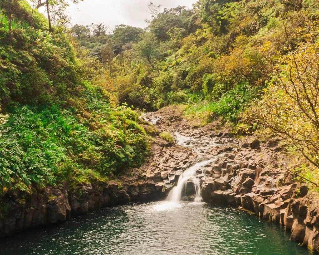 Waterfalls on Road to Hana, Maui