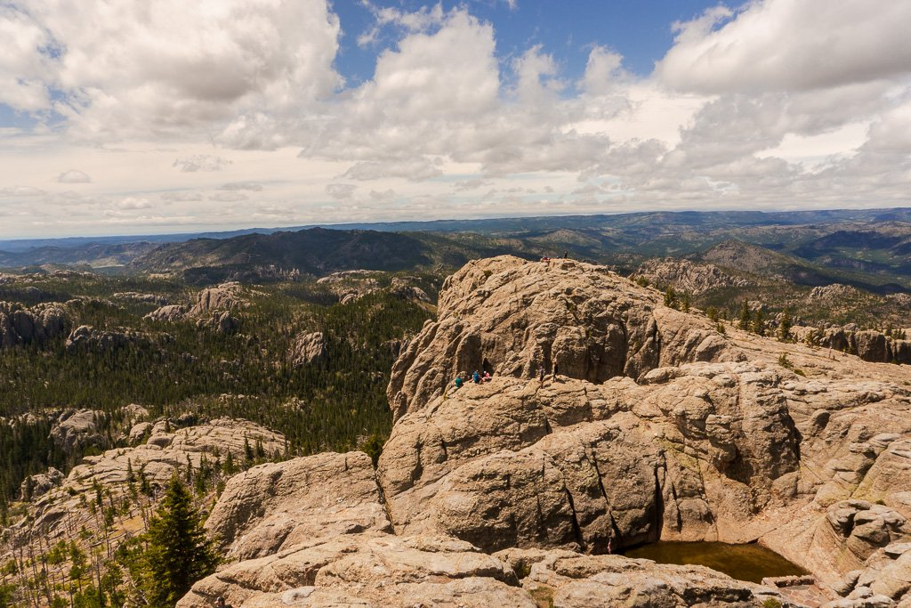 Black Elk Peak and Harvey Peak