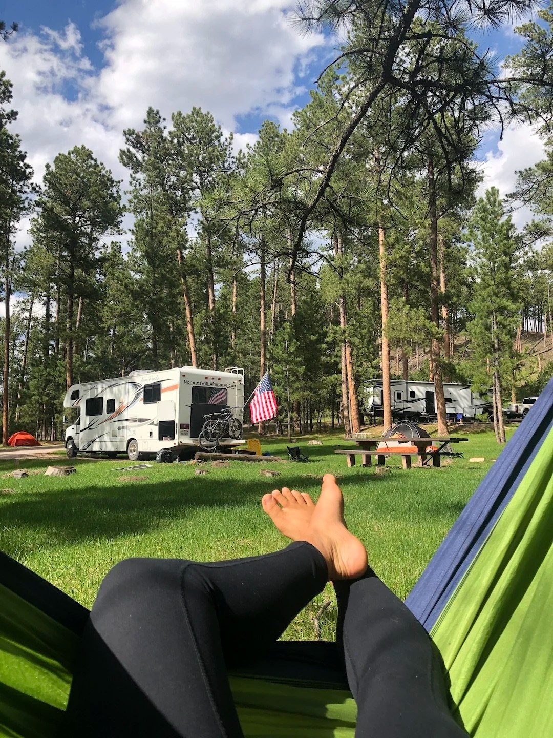 Oreville Campground, Best Campgrounds Black Hills, South Dakota