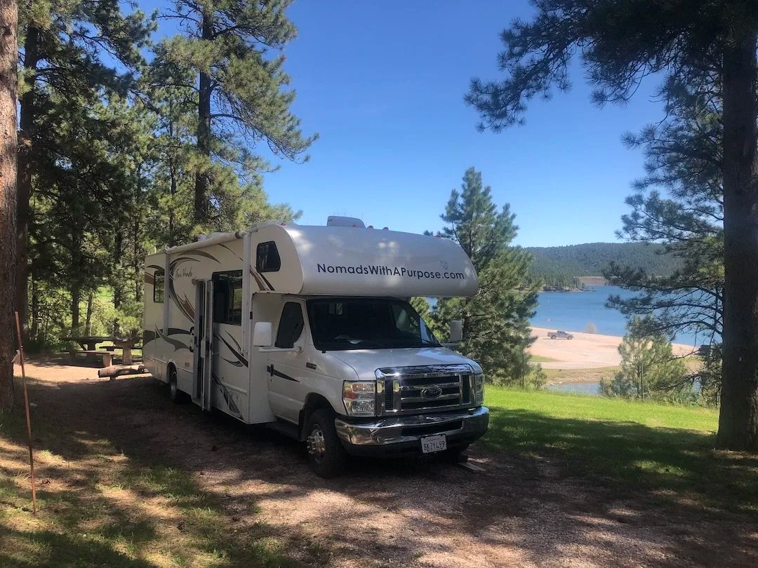 PActola Reservoir Campground, South Dakota Camping