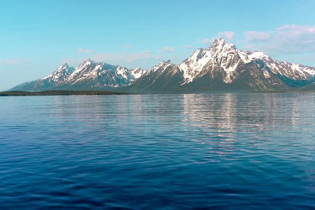 Grand Teton to Yellowstone to Glacier National Parks Road Trip Grand Tetons