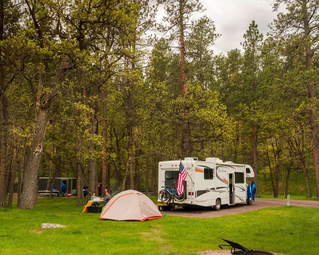 Grace Coolidge Campground in Custer