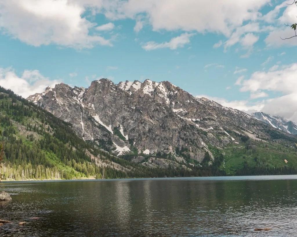 Grand Teton to Yellowstone to Glacier National Parks Road Trip Jenny Lake