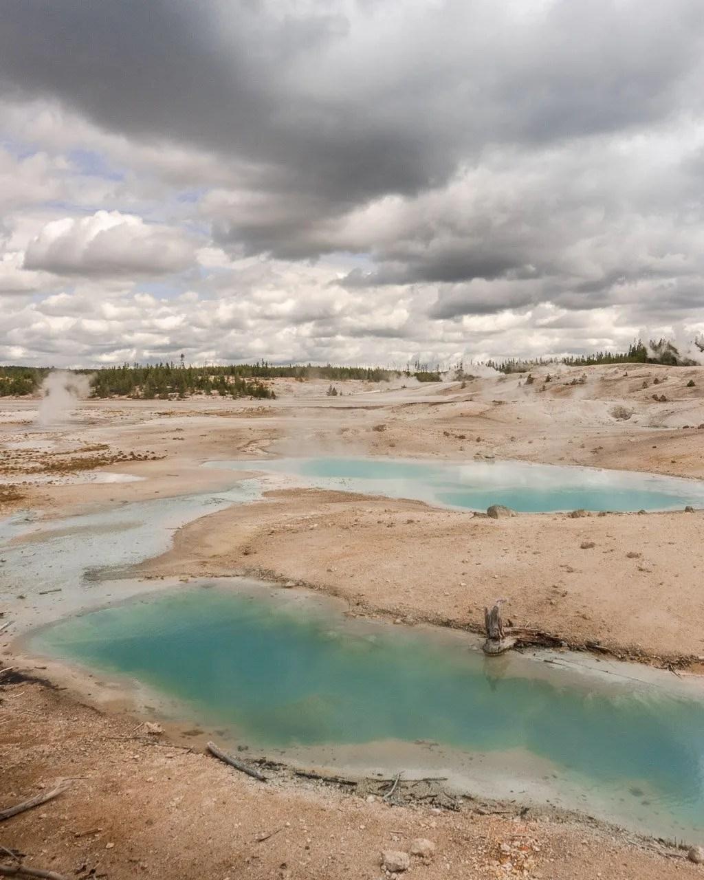 Grand Teton to Yellowstone to Glacier National Parks Road Trip Norris Basin