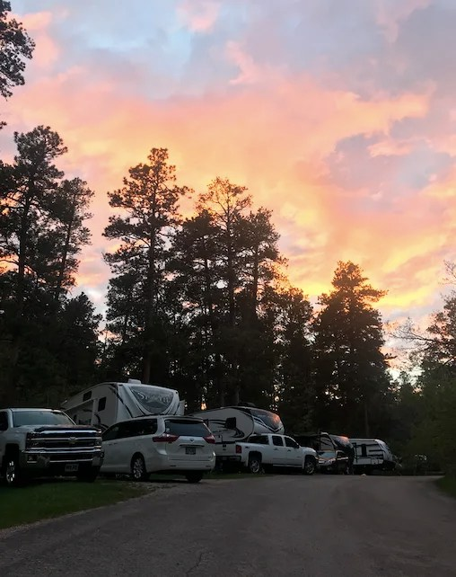 Best Campground Black Hills South Dakota Horsethief Lake