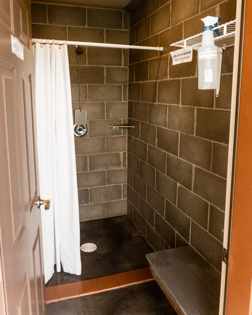Showers, Spearfish KOA, Campgrounds South Dakota
